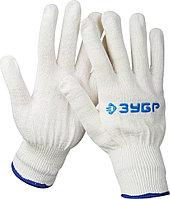 Перчатки ЗУБР трикотажные, 12 класс, х/б, L-XL 11450-XL