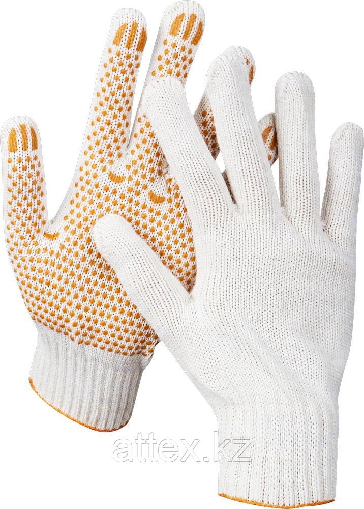 Перчатки трикотажные с защитой от скольжения Stayer 11404-XL