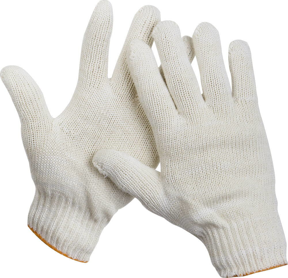 "Перчатки STAYER ""МASTER"" трикотажные, 7 класс, х/б, обливная ладонь из ПВХ, S-M 11405-S"