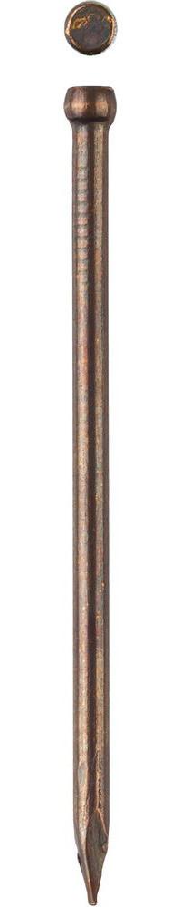 Гвозди финишные, с покрытием венге, 1,4х30мм, 50шт, ЗУБР Профессионал 305376-14-30