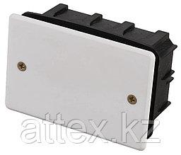 Коробка монтажная СВЕТОЗАР для подштукатурного монтажа, макс. напряжение 400В, с крышкой, 100х60х50мм, прямоугольная SV-54925