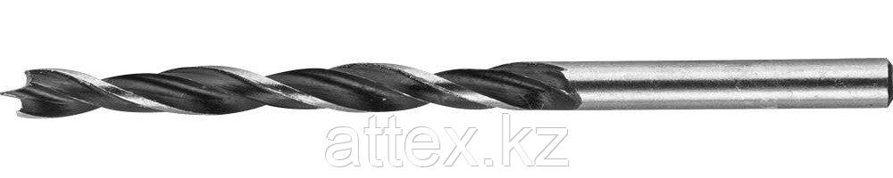 """Сверло спиральное по дереву """"M-type"""", М-образная заточка, сталь HCS, STAYER Professional 2942-060-03  2942-060-03_z01"""