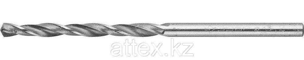 """Сверло ЗУБР """"МАСТЕР"""" по металлу, цилиндрический хвостовик, быстрорежущая сталь Р6М5, 3,2х65мм 4-29621-065-3.2"""
