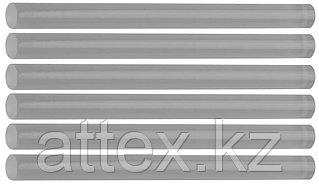 "Стержни STAYER ""MASTER"" для клеевых (термоклеящих) пистолетов, прозрачные, 7х100мм, 6шт 2-06817-T-S06"