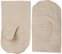Рукавицы хлопчатобумажные, двунитка с двойным наладонником, XL  11412