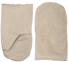 Рукавицы хлопчатобумажные, двунитка с защитой от скольжения ПВХ, XL  11413