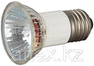 Лампа галогенная СВЕТОЗАР с защитным стеклом, цоколь E27, диаметр 51мм, 35Вт, 220В SV-44843