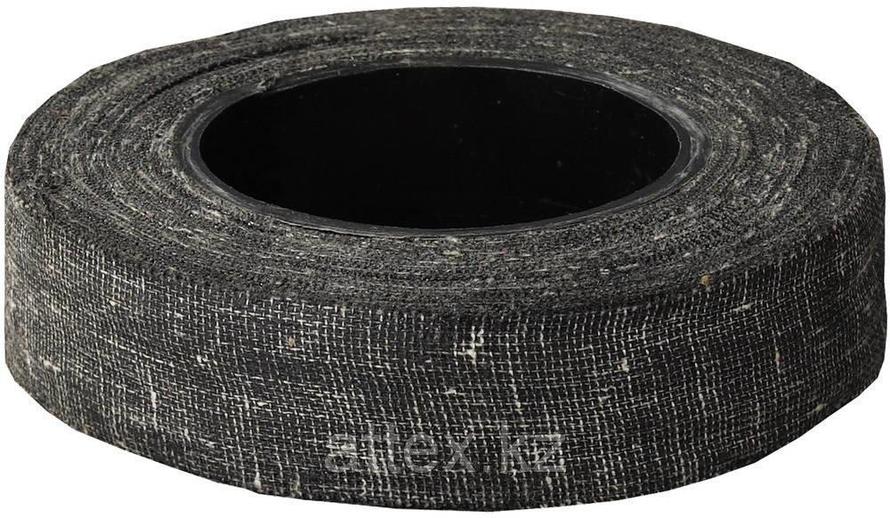 Изолента, ЗУБР 1230-120, армированная х/б тканью, 90 г, черная
