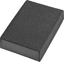 Губки шлифовальные DEXX четырехсторонняя, AL2O3 средняя жесткость, Р180, 100х68х26мм 35637-180