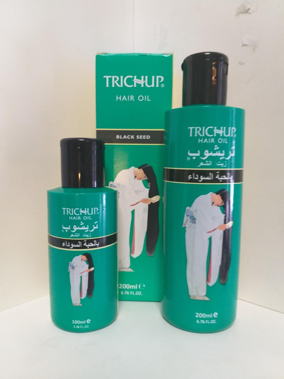 Тричап масло с Черным Тмином (Trichup Hair Oil Black Seed VASU), 100 мл