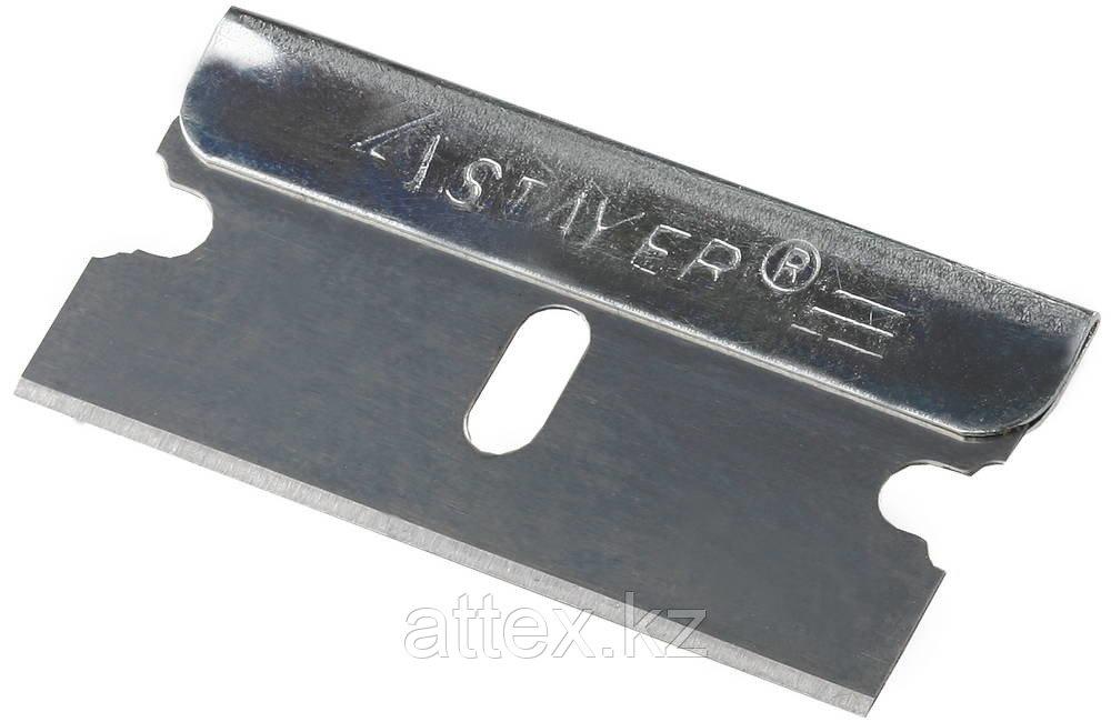 """Лезвия STAYER """"MASTER"""" сменные для скребков арт. 0853, 08533, 08535, тип Н01, 40мм, 5шт  08549-S5_z01"""