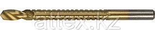 Сверло фрезеровальное по дереву, тонколистному металлу, ЗУБР Мастер 29965-08, d=8х110мм