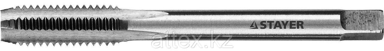 """Метчик STAYER """"MASTER"""" одинарный, для сквозных отверстий, сталь 9ХС, М8х1,25 28020-08-1.25"""