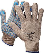 Перчатки утепленные, акриловые, с защитой от скольжения, 10 класс, L-XL, ЗУБР Профессионал 11463-XL