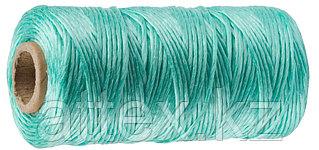 Шпагат STAYER многоцелевой полипропиленовый, d=1,5 мм, зеленый, 110 м, 32 кгс, 0,8 ктекс 50073-110