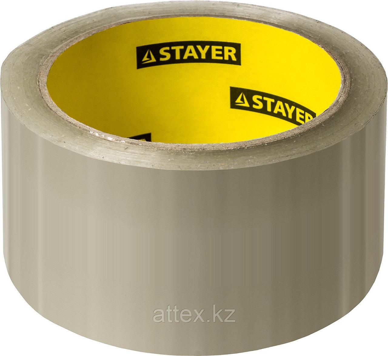 Клейкая лента, STAYER Master 1204-50, прозрачная, 48мм х 60м