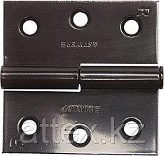 "Петля дверная STAYER ""MASTER"" разъемная, цвет коричневый, правая, 75мм 37613-75-3R"