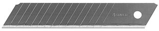 """Лезвие STAYER """"PROFI"""" сегментированное, 15 сегментов, 18 мм, 10 шт, в боксе 0916-S10"""
