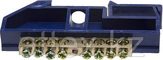 Шина СВЕТОЗАР нулевая на DIN-изоляторе, макс. ток 100А, 5,2мм, 8 полюсов 49807-08