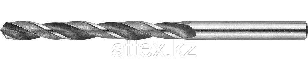 Сверло по металлу, сталь Р6М5, класс В, ЗУБР 4-29621-101-6.7, d=6,7 мм