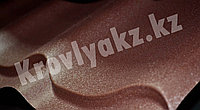 Металлочерепица Ral 8017 матовый (шоколад)