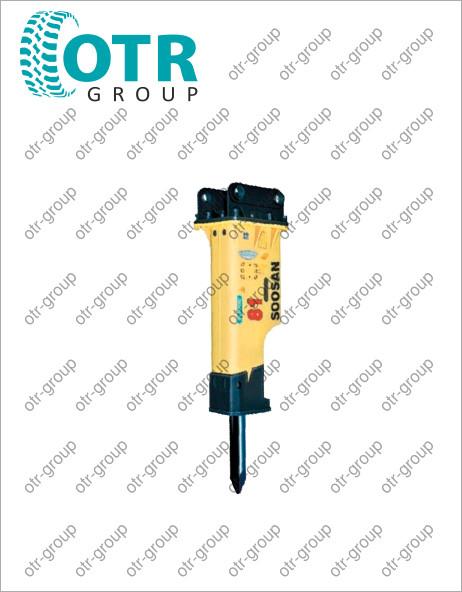 Гидромолот для колесного экскаватора Komatsu PW220-7