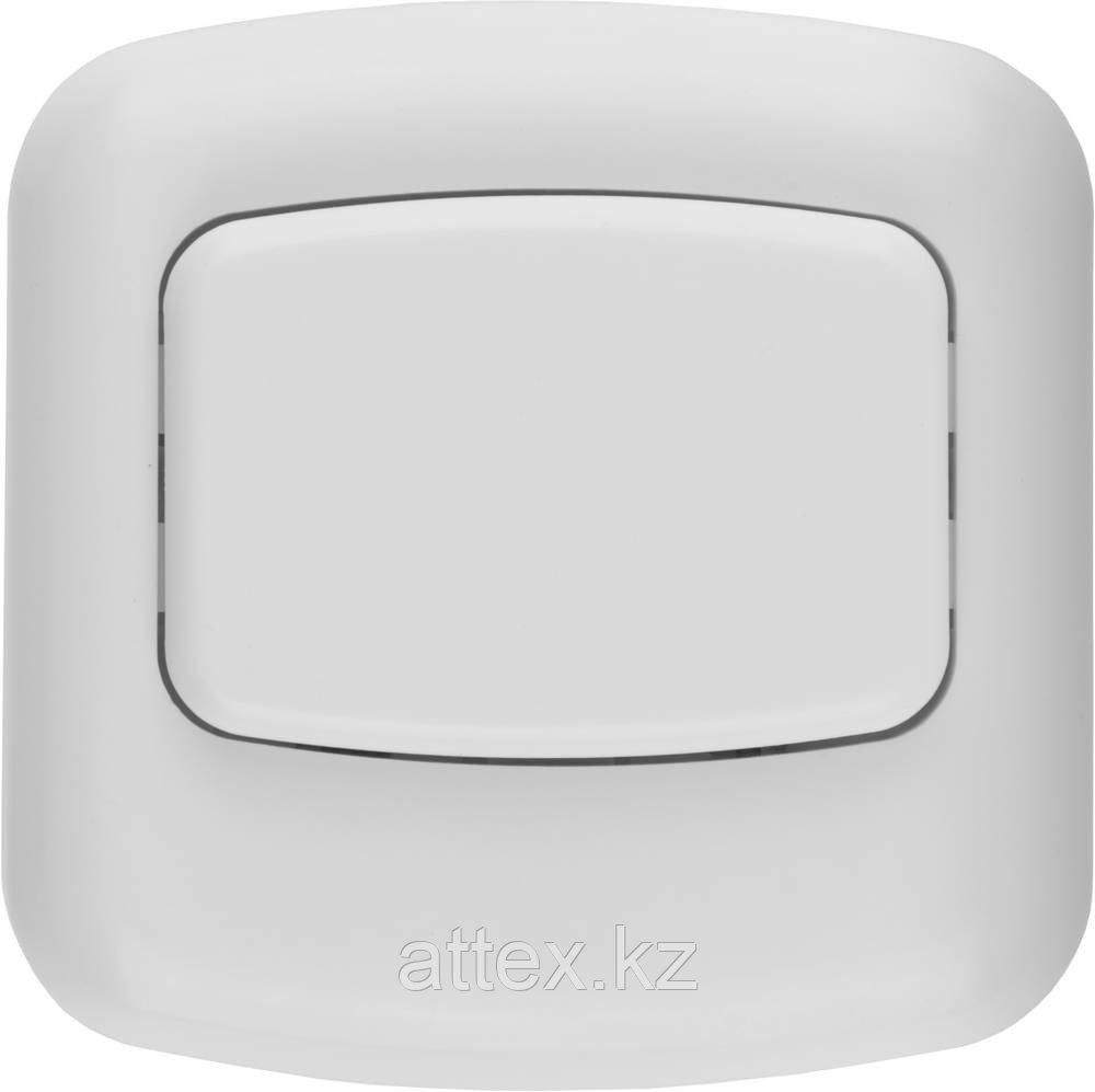 Кнопка СВЕТОЗАР для звонка, цвет белый, 220В 58301