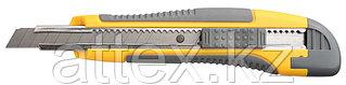 """Нож STAYER """"MASTER"""" с выдвижным сегмент. лезвием, пластмас., упроч., 9мм 0903"""