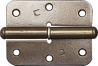 "Петля накладная стальная ""ПН-85"", цвет бронзовый металлик, правая, 85мм  37645-85R"