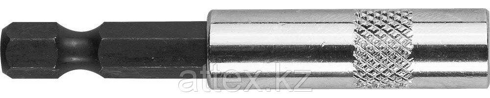 """Адаптер STAYER """"PROFI"""" для бит комбинированный магнитный, 60мм 2671-60"""