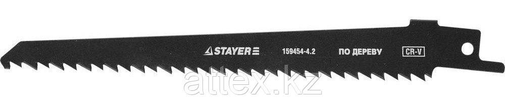 """Полотно STAYER """"PROFI"""" S644D для сабел эл. ножовки Cr-V,быстр,чистый,прям и фигур рез по дереву,фанере,ДСП,пластику 159454-4.2"""