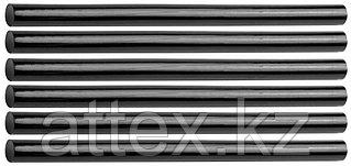 """Стержни STAYER """"MASTER"""" для клеевых (термоклеящих) пистолетов, цвет черный по ковролину и коже, 11х200мм, 6шт 2-06821-D-S06"""