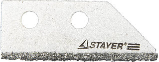 """Лезвие STAYER """"PROFI"""" сменное с карбидным напылением для скребка 33415, 2шт. 33415-S2"""