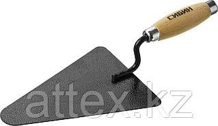 Кельма бетонщика СИБИН с деревянной усиленной ручкой, КБ  0820-2_z01