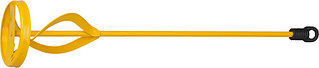 """Миксер STAYER """"MASTER"""" для красок металлический, шестигранный хвостовик, крашенный, 80х400мм 06019-08-40"""
