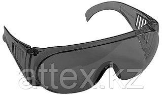 """Очки STAYER """"STANDARD"""" защитные, поликарбонатная монолинза с боковой вентиляцией, серые 11043"""