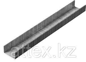 Скобы тип 80, 6 мм, супертвердые, KRAFTOOL 31690-06, 3000 шт  31690-06_z01