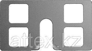 КРЕММЕР 100 шт крепление для установки маячковых профилей, ЗУБР  30950-100