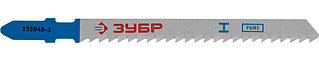 """Полотна ЗУБР """"ЭКСПЕРТ"""", T127D, для эл/лобзика, HSS, по алюминию, мягкому металлу, EU-хвостовик, шаг  155945-3_z01"""