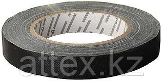 "Изолента STAYER ""PROFI"" черная ПВХ армированная х/б тканью, 25м х 19мм x 0,3мм 12290-19-25"