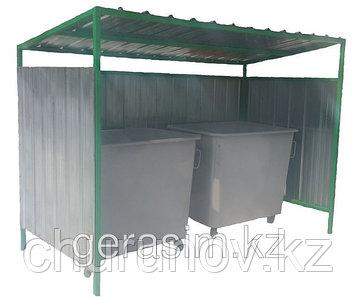 Контейнерная площадка для мусорных контейнеров ТБО