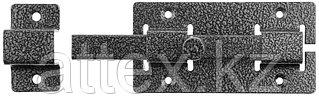"""Задвижка накладная""""ЗД-06""""для дверей усиленная, порошковое покрытие, цвет серебро, квадратный засов 15х145х15мм, 60х145мм  37786-6"""