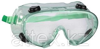 Очки STAYER защитные самосборные закрытого типа с непрямой вентиляцией, поликарбонатные прозрачные линзы 2-11026