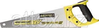 Ножовка универсальная (пила) STAYER Universal 500 мм, 7 TPI, универсальный зуб, рез вдоль и поперек  1510-50_z01