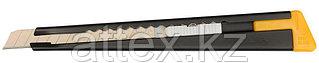 Нож OLFA с выдвижным лезвием, черный, 9мм OL-180-BLACK