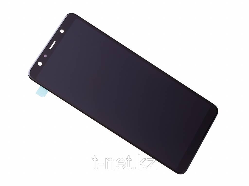 Дисплей Samsung Galaxy A7 (2018) SM-A750 Сервис Оригинал с сенсором, цвет черный