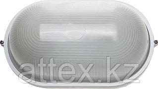 Светильник уличный СВЕТОЗАР влагозащищенный, овал, цвет белый, 100Вт SV-57203-W