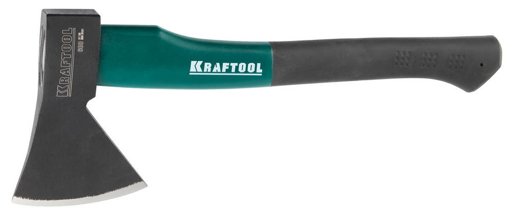 """Топор KRAFTOOL """"EXPERT"""" плотницкий, с эргономичной двухкомпонентной фиберглассовой рукояткой, длина 360мм, 0,6кг 20650-06"""