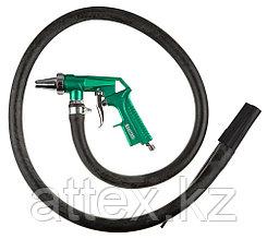 """Пистолет KRAFTOOL """"EXPERT QUALITAT"""" пескоструйный с выносным шлангом, рабочее давление 5 атмосфер 06581"""