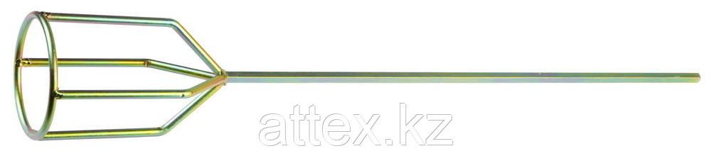 """Миксер STAYER """"PROFI"""" оцинкованный, для гипсовых смесей и наливных полов, 100х590мм, на подвеске"""